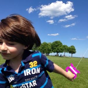 Fynn sunny kite