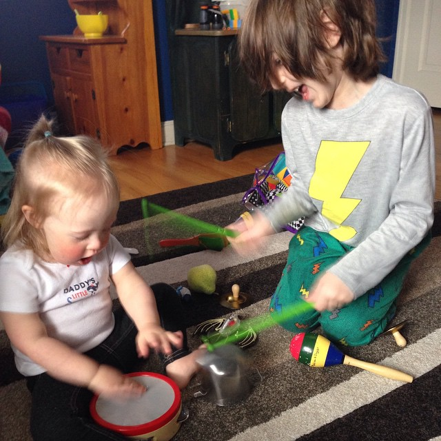 Mia and Fynn instruments